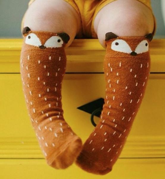 Brown Fox Socks