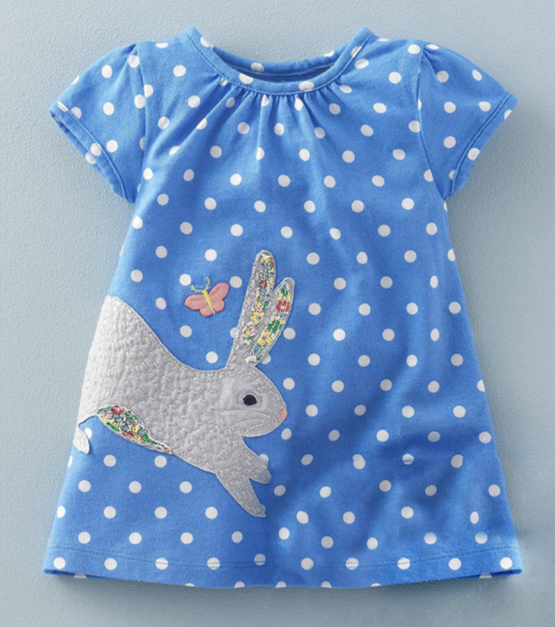 Peter Cottontail Dress (Front)