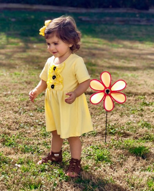 You Are My Sunshine Dress (Front)