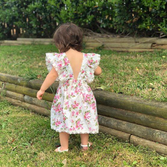 Melina & Me - Virginia Dress (Back)