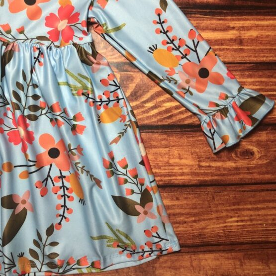 Melina & Me - Autumn Blossom Dress (2)