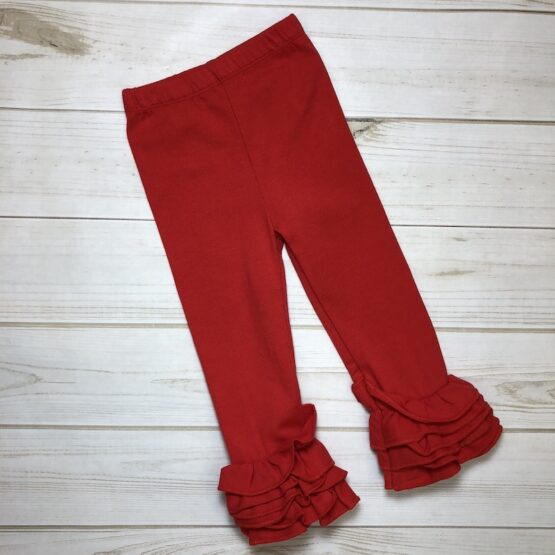 Melina & Me - Icing Pants-Red