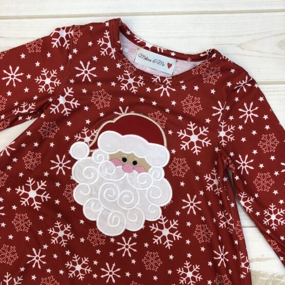 Melina & Me - Sweet Santa Outfit (Front)