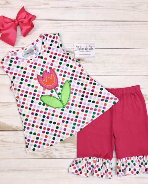 Melina & Me - Spring Blossom Outfit