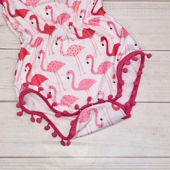 Melina & Me - Flamingo Pom Pom Romper (3)