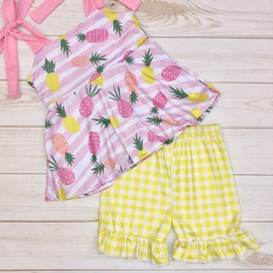 Melina & Me - Pineapple Picnic Outfit (2)