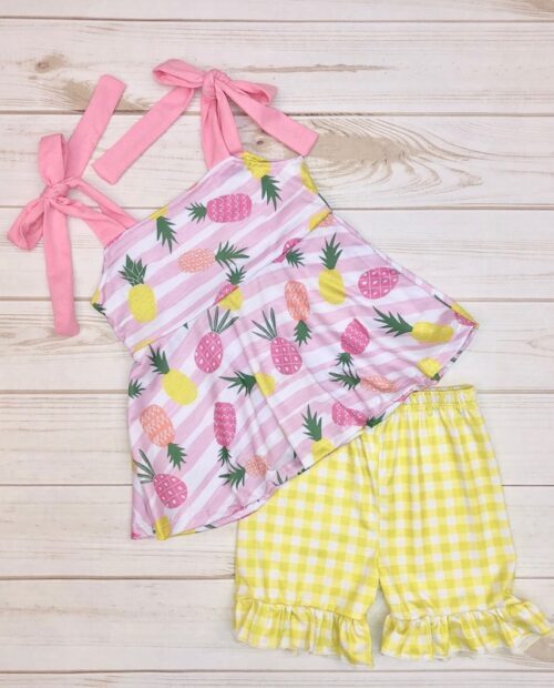 Melina & Me - Pineapple Picnic Outfit