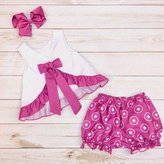 Melina & Me - Sweet Violet Outfit (Back)