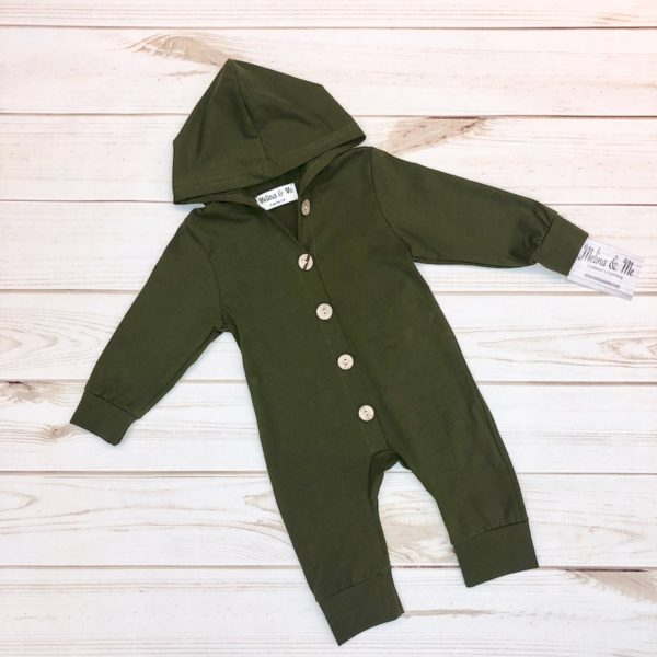 Max Hooded Jumper – Olive