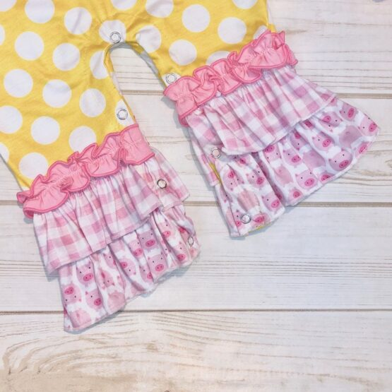 Melina & Me - Butter Cup Romper (Close-up)