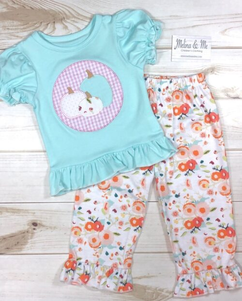 Melina & Me - Autumn Blooms Outfit