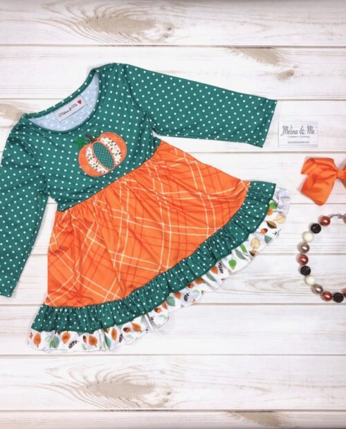 Melina & Me - Pumpkin Harvest Dress