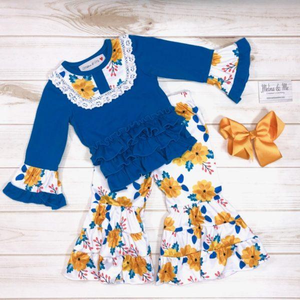 Sapphire & Citrus Outfit