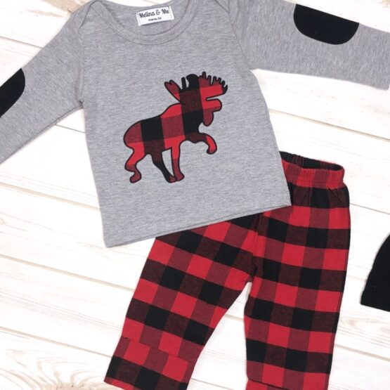 Melina & Me - Sawyer 3-Piece Outfit (Front)