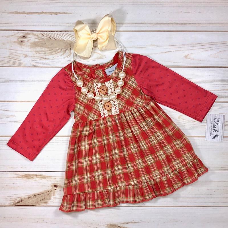 Christmas Dress.Country Christmas Dress