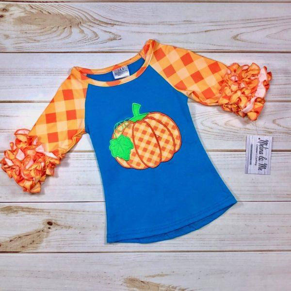 Preppy Pumpkin Shirt