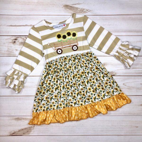 Sunflower Field Dress