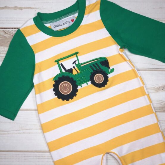 Melina & Me - Tractor Jumper - Long Sleeve (Front)