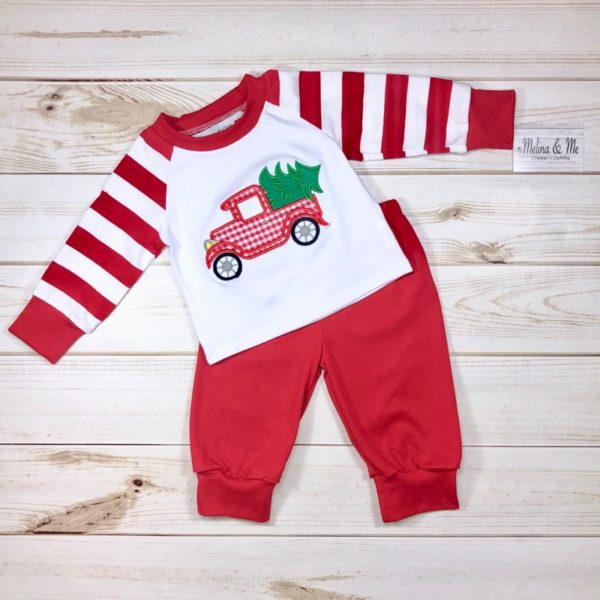 Vintage Christmas Truck Outfit