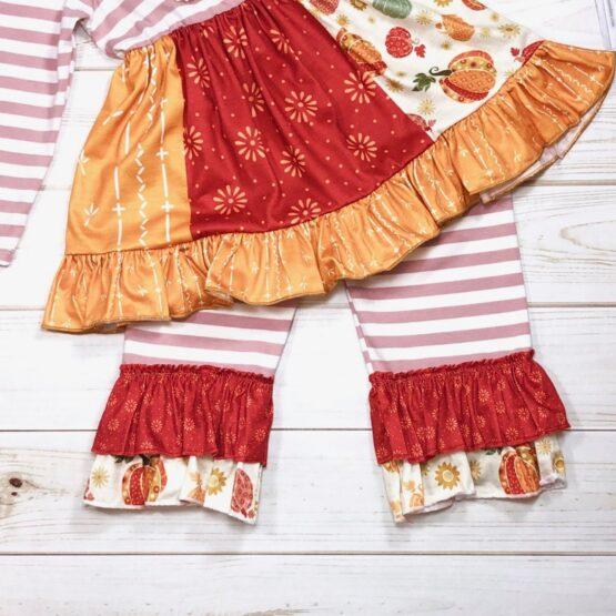 Melina & Me - Pumpkin Spice Outfit (Print)