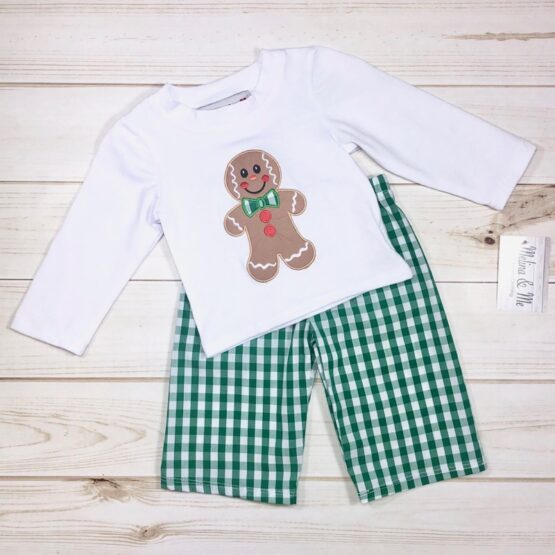 Melina & Me - Gingerbread Boy Outfit