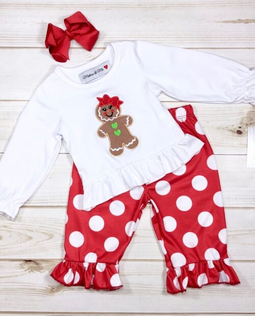 Melina & Me - Gingerbread Girl Outfit