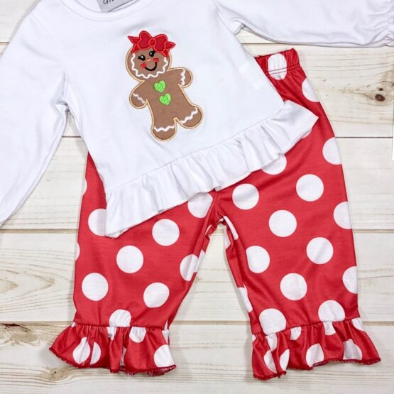 Melina & Me - Gingerbread Girl Outfit (Front)