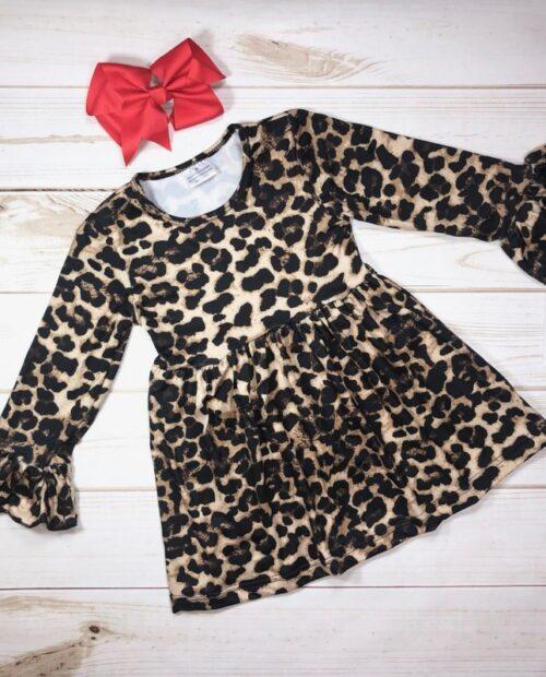 Melina & Me - Leopard Dress