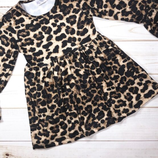 Melina & Me - Leopard Dress (Front)