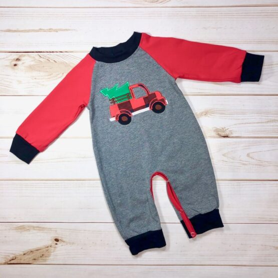 Melina & Me - Red Truck Christmas Jumper