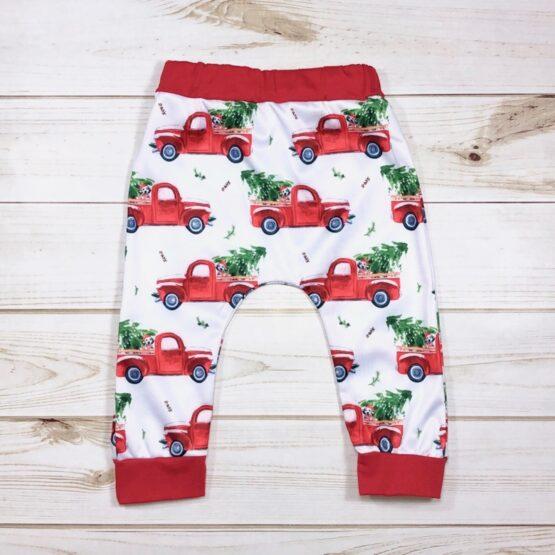 Melina & Me - Red Truck Sweatsuit (Pants)