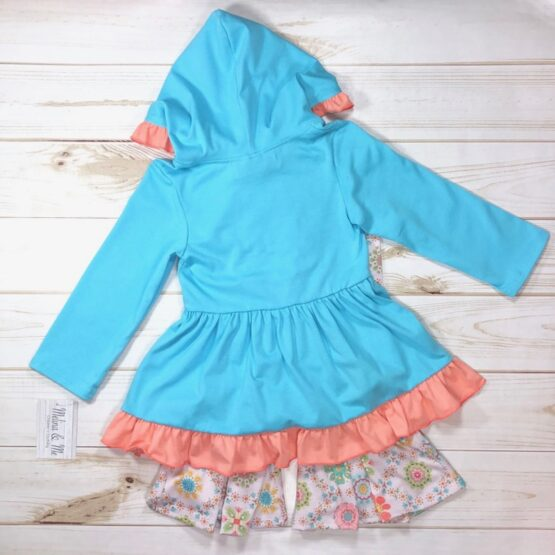 Melina & Me - Flower Child Outfit (Back)