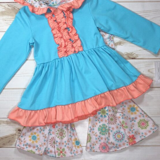 Melina & Me - Flower Child Outfit (Front)
