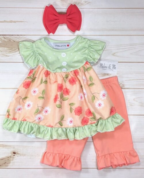 Melina & Me - Sweet Peach Outfit