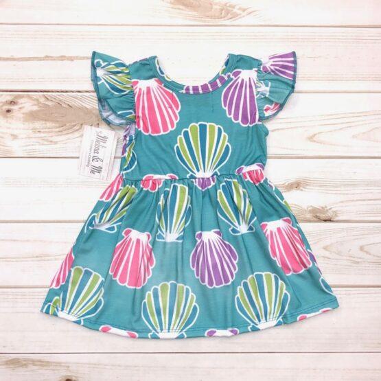 Melina & Me - Seashell Dress (Back)