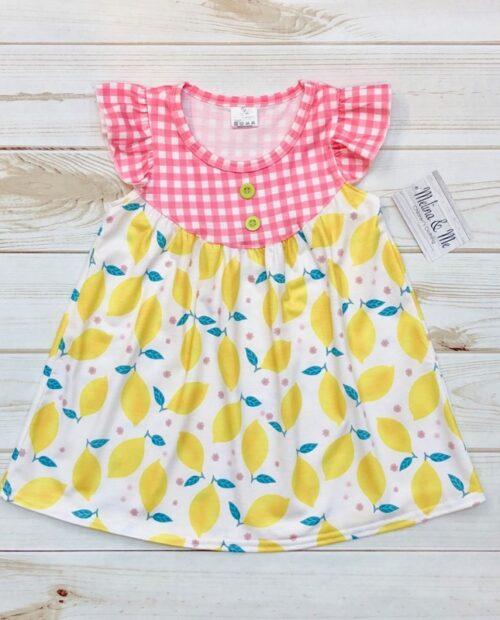 Melina & Me - Strawberry Lemonade Dress
