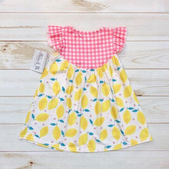 Melina & Me - Strawberry Lemonade Dress (Back)
